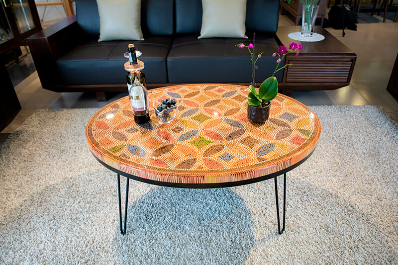 Cool Ellipse Decor Coffee Tables Designed by Henry Le