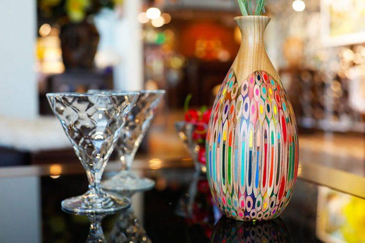 Decorative Pipa Vase 1
