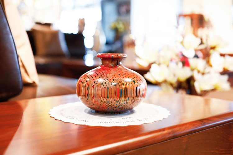 Decorative Summer Wind Vase