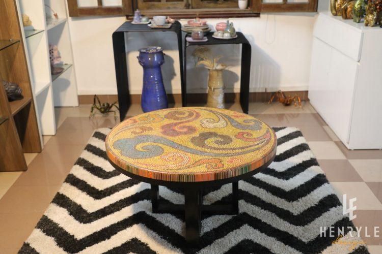 Elysium II Colored-Pencil Coffee Table 2