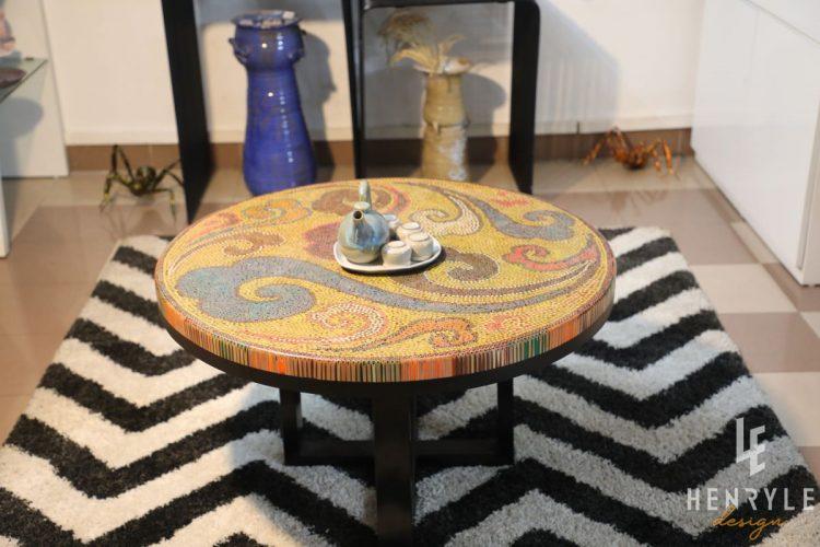 Elysium II Colored-Pencil Coffee Table 7