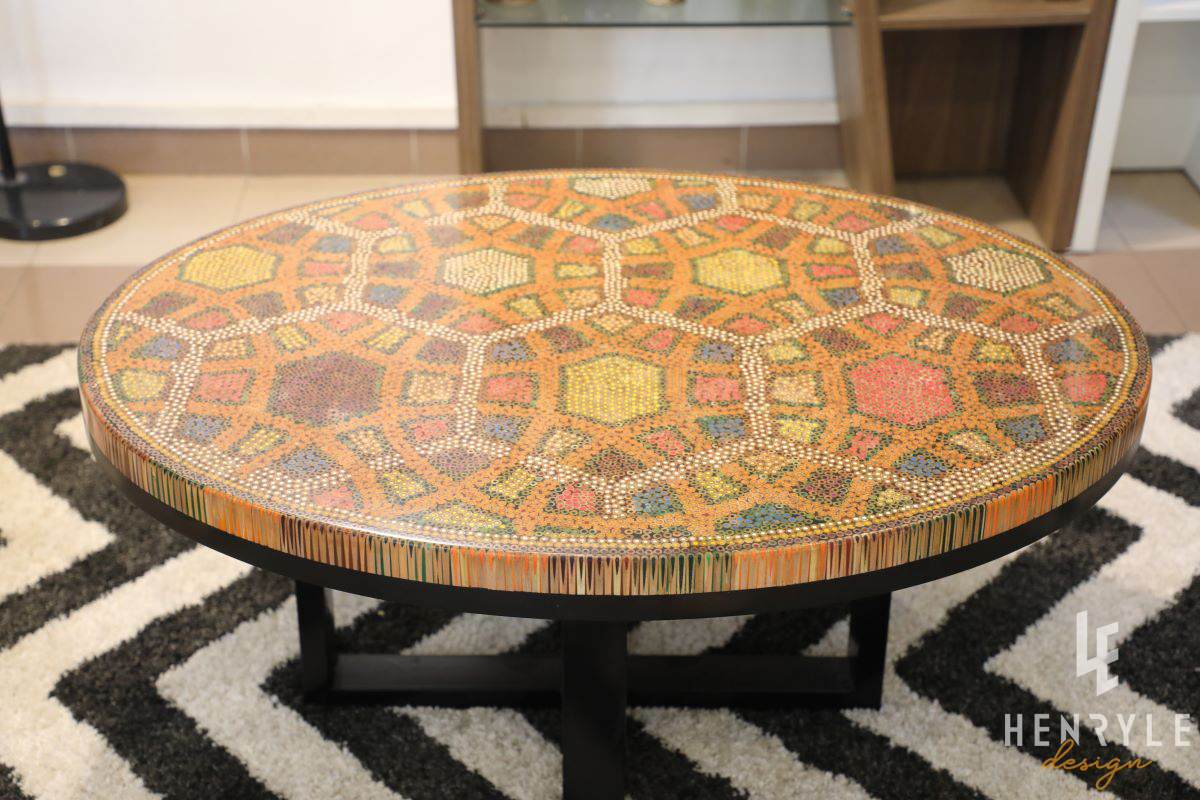 Endless Bound Colored Coffee Table 2