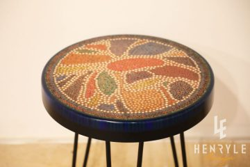 Lotus Pond Colored-Pencil Coffee Table V 3