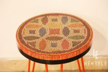 Lucky Coins Colored-Pencil Coffee Table V 1