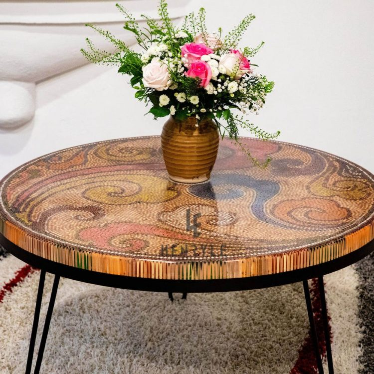 The Elysium Colored Pencil Coffee Table I