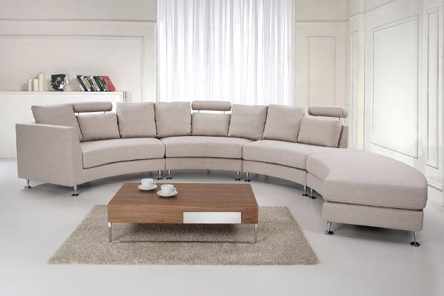semi circle sofa